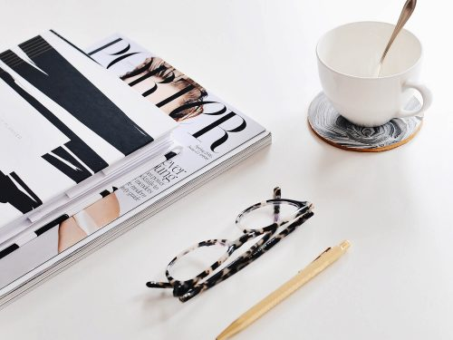 Magazine-Glasses-with-Coffee-Cup